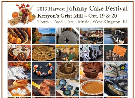 Come grab a few copies of Rhode Island Recipes at Kenyon's Johnny Cake Festival