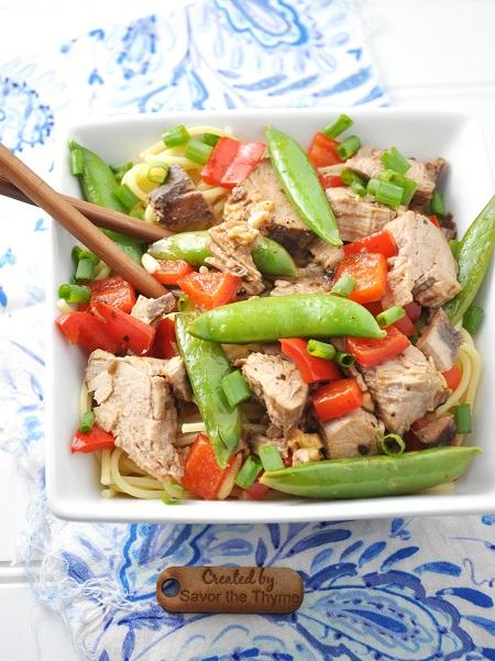 Pork Lo Mein Recipe {Quick & Easy}