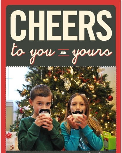 Our Christmas Card 2013 {Obsessed with Minted holiday card collection}