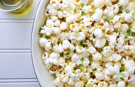 Jalapeno & Garlic Popcorn Recipe