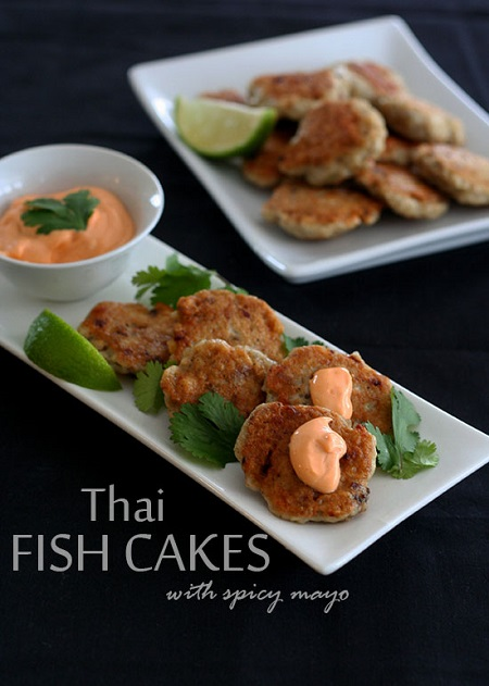 Gluten Free Thai Fish Cakes Recipe