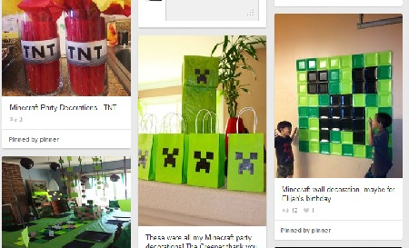 DIY Minecraft Birthday Party Savor The Thyme Food Family