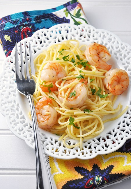 Italian Shrimp Pasta Recipe