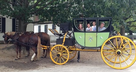 Post image for Family Travel to Virginia: Colonial Williamsburg Revolutionary City: Part 1