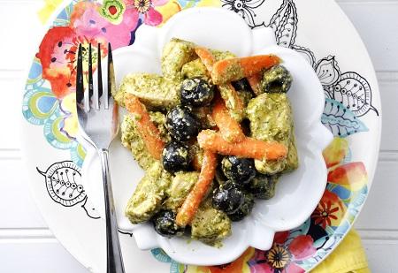 Italian pesto chicken recipe 1