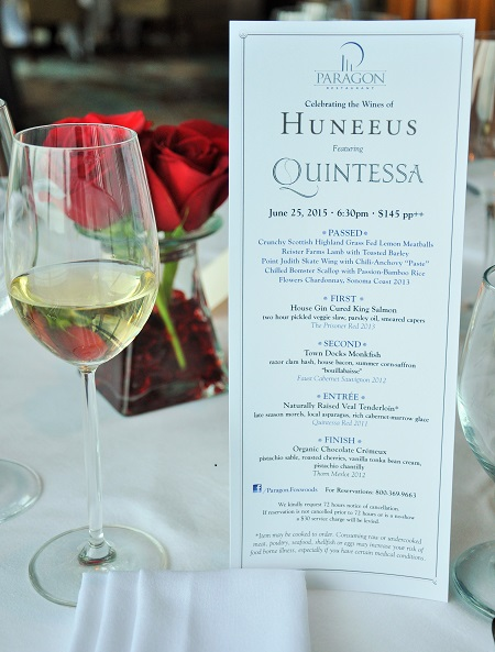 Post image for Celebrating with Quintessa Wines at Paragon Restaurant, Foxwoods Resorts Casino