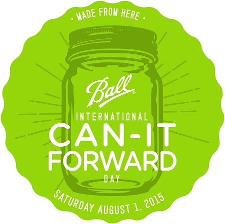 Canning Season: Heritage Ball Jars & Can-It-Forward Day {Giveaway}
