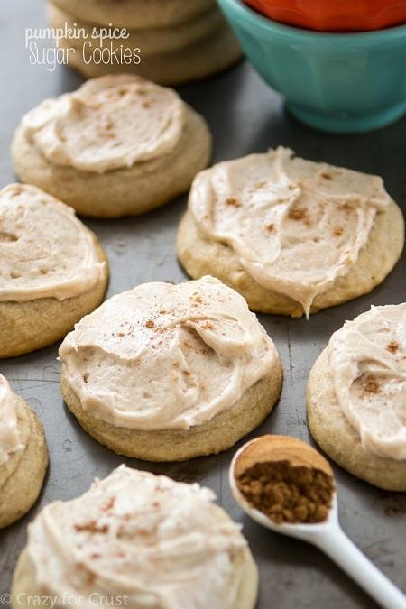 pumpkin spice cookies 2
