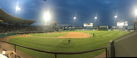 Pawsox Baseball Game in Rhode Island