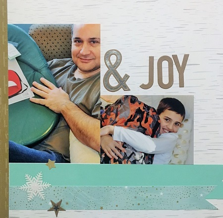 Mom & Me Scrapbook Layout
