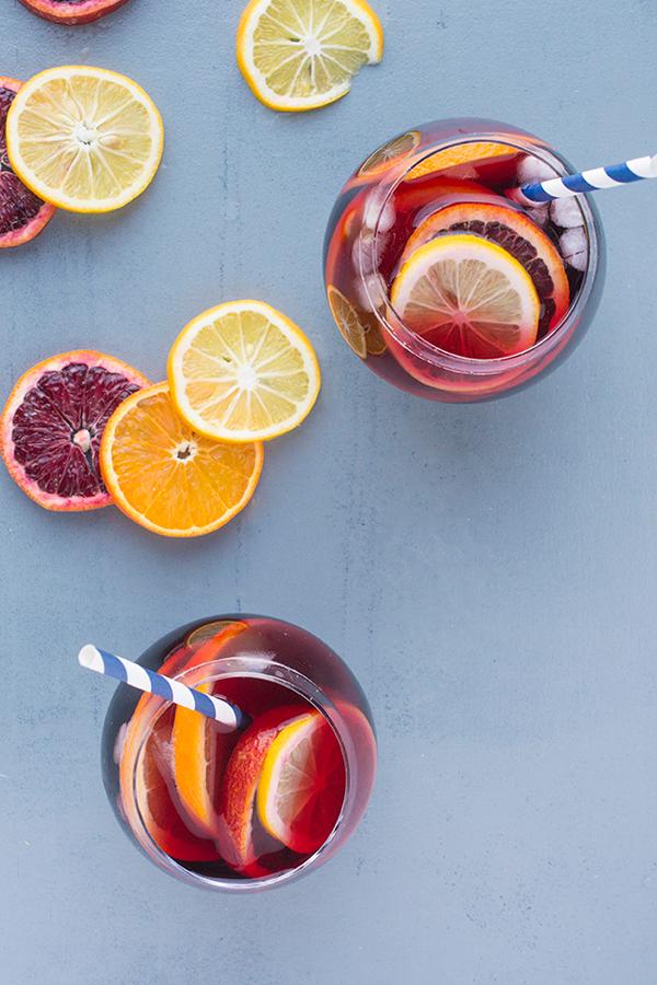 Spanish Sangria Cocktail