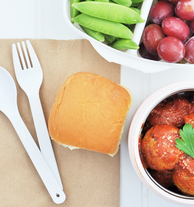 9 Creative Back To School Lunch Box Ideas & Quinoa Meatball Lunch Box Sliders