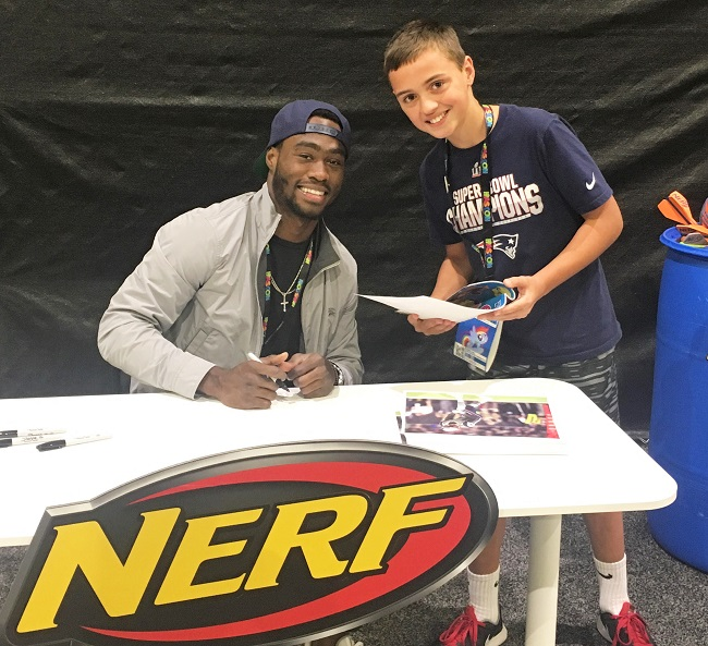 A Surprise and Brandin Cooks at HasCon in Providence Rhode Island